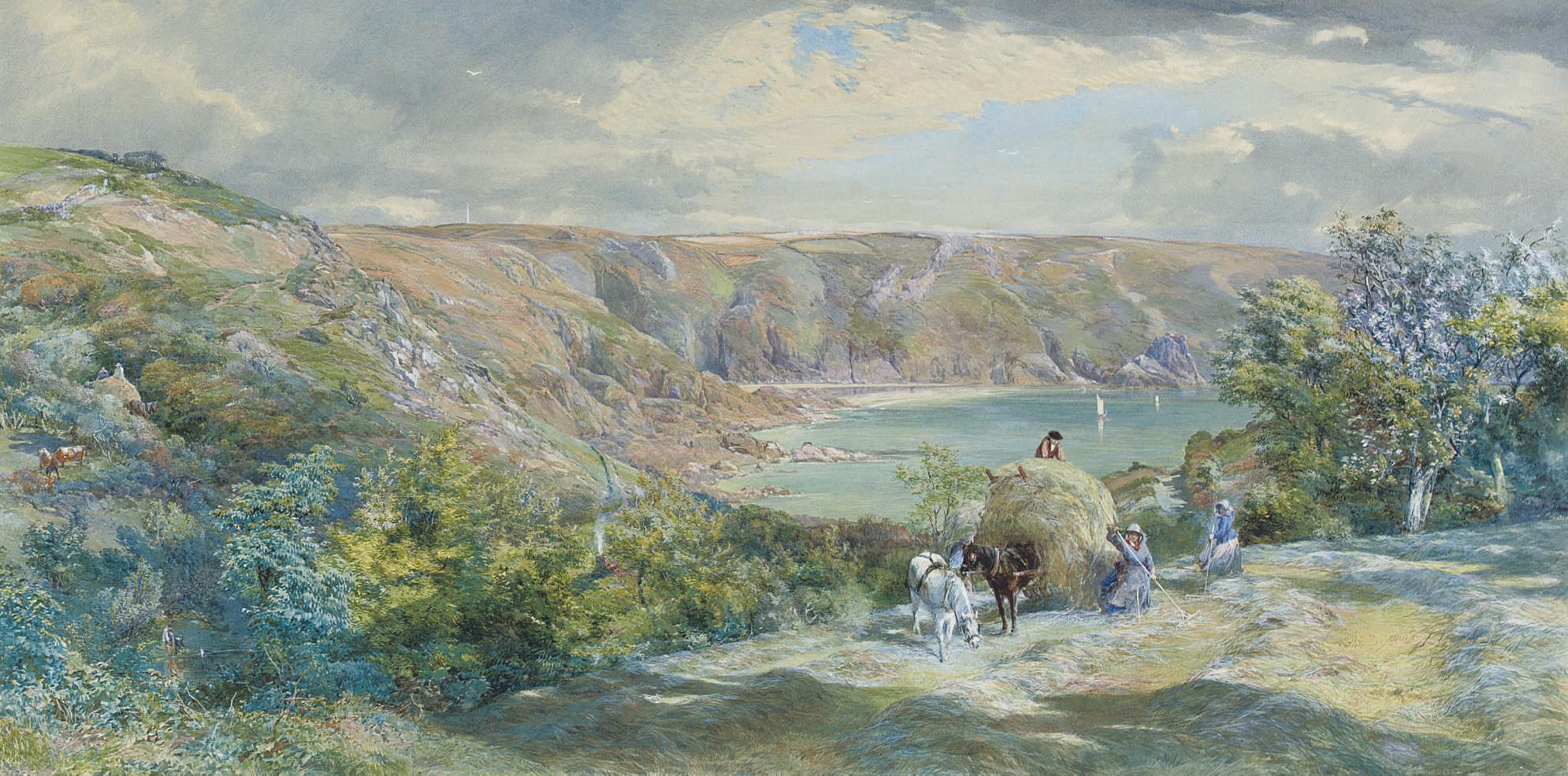 Moulin Huet Bay, Guernsey
