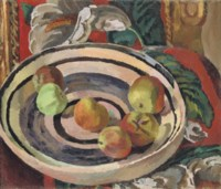 Still Life with Apples in a Bowl