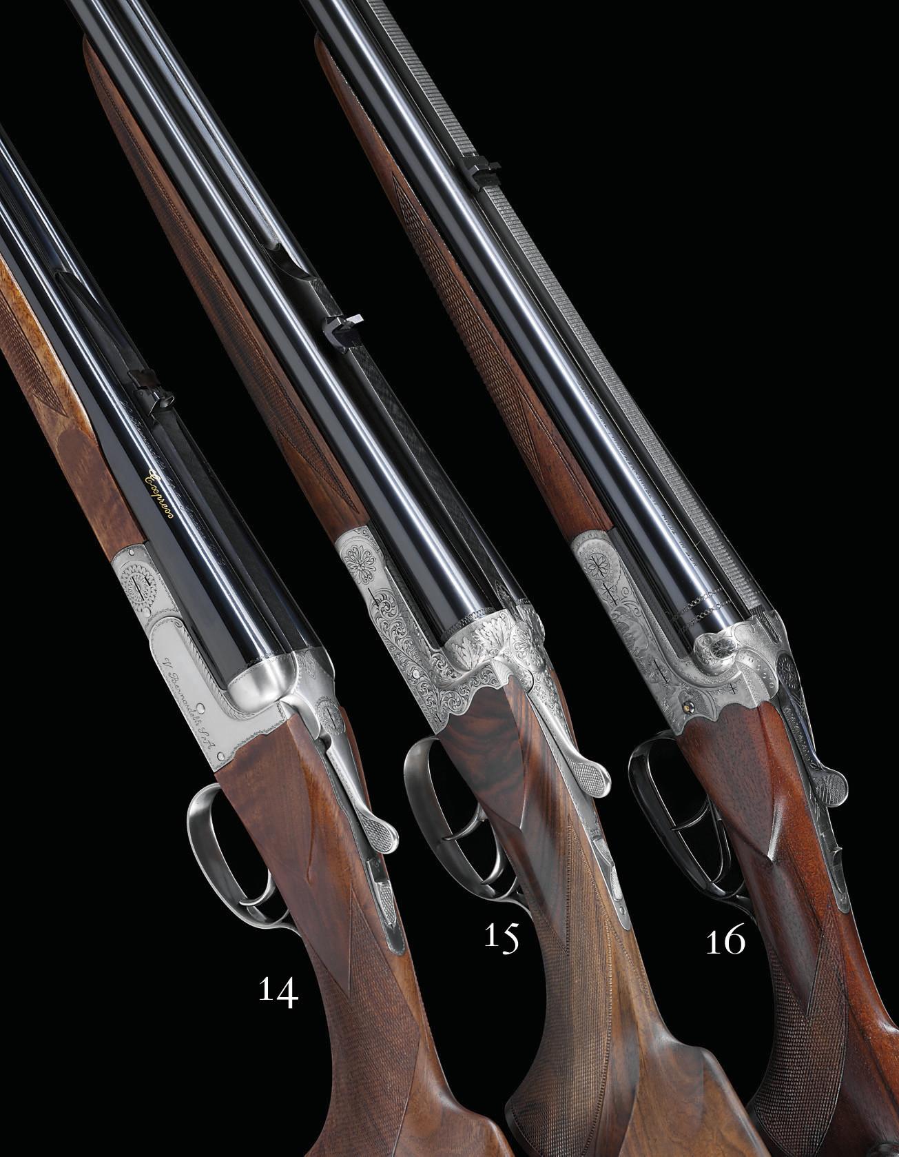 A 5.6x50 REMINGTON MAG 20-BORE 'BUCHSFLINTE 51' MODEL BOXLOCK NON-EJECTOR COMBINATION GUN-RIFLE BY GEBRUDER ADAMY, NO. 5886