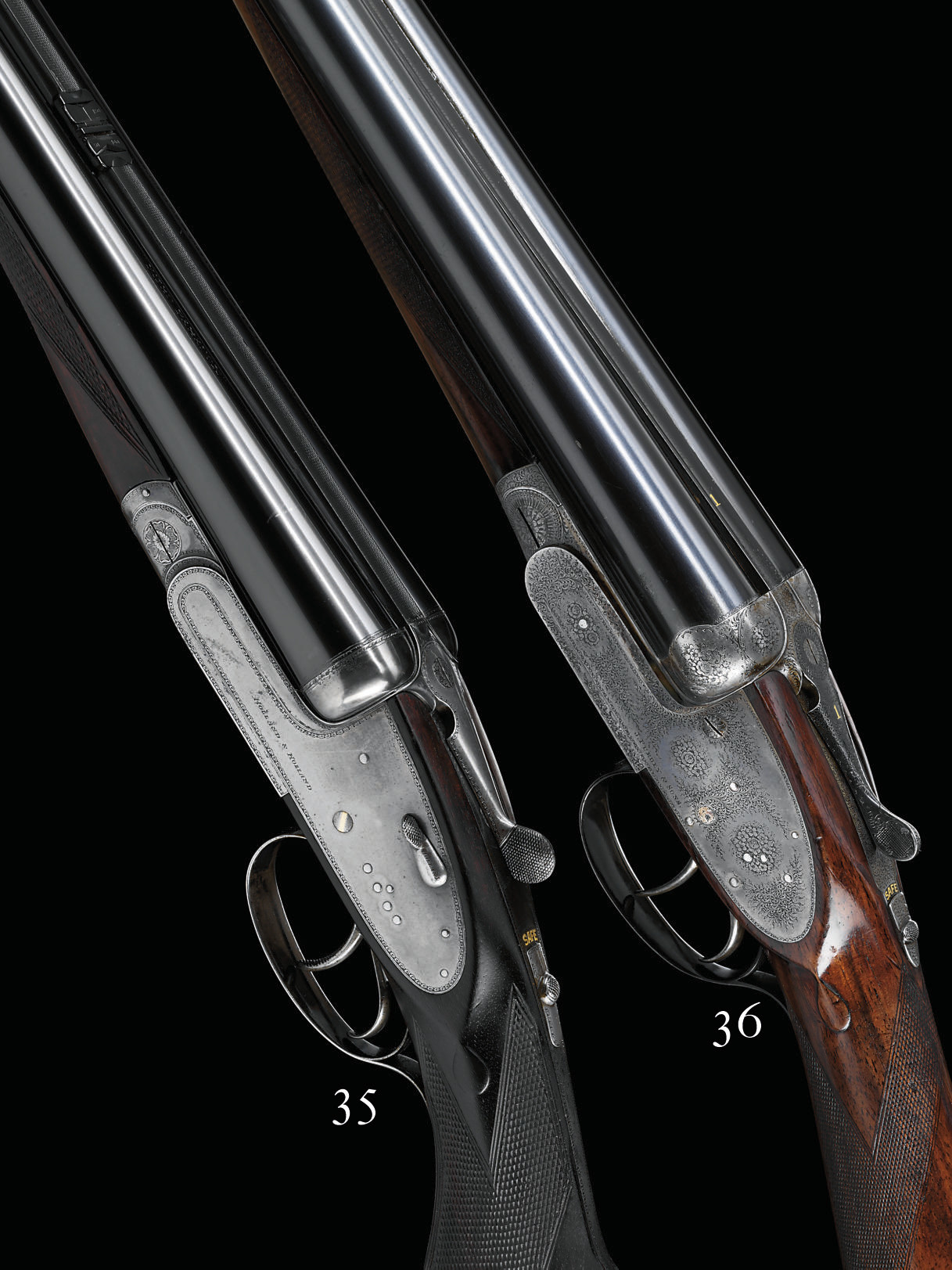 A 12-BORE SIDELOCK EJECTOR 'PA