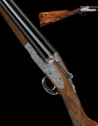 AN EXCEPTIONALLY FINE NEW 16-BORE SINGLE-TRIGGER SELF-OPENING SIDELOCK EJECTOR GUN BY ASPREY, NO. 2022