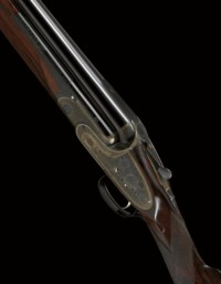 A VERY FINE 12-BORE SINGLE-TRIGGER OVER-AND-UNDER SIDELOCK EJECTOR GUN BY BOSS & CO., NO. 5878