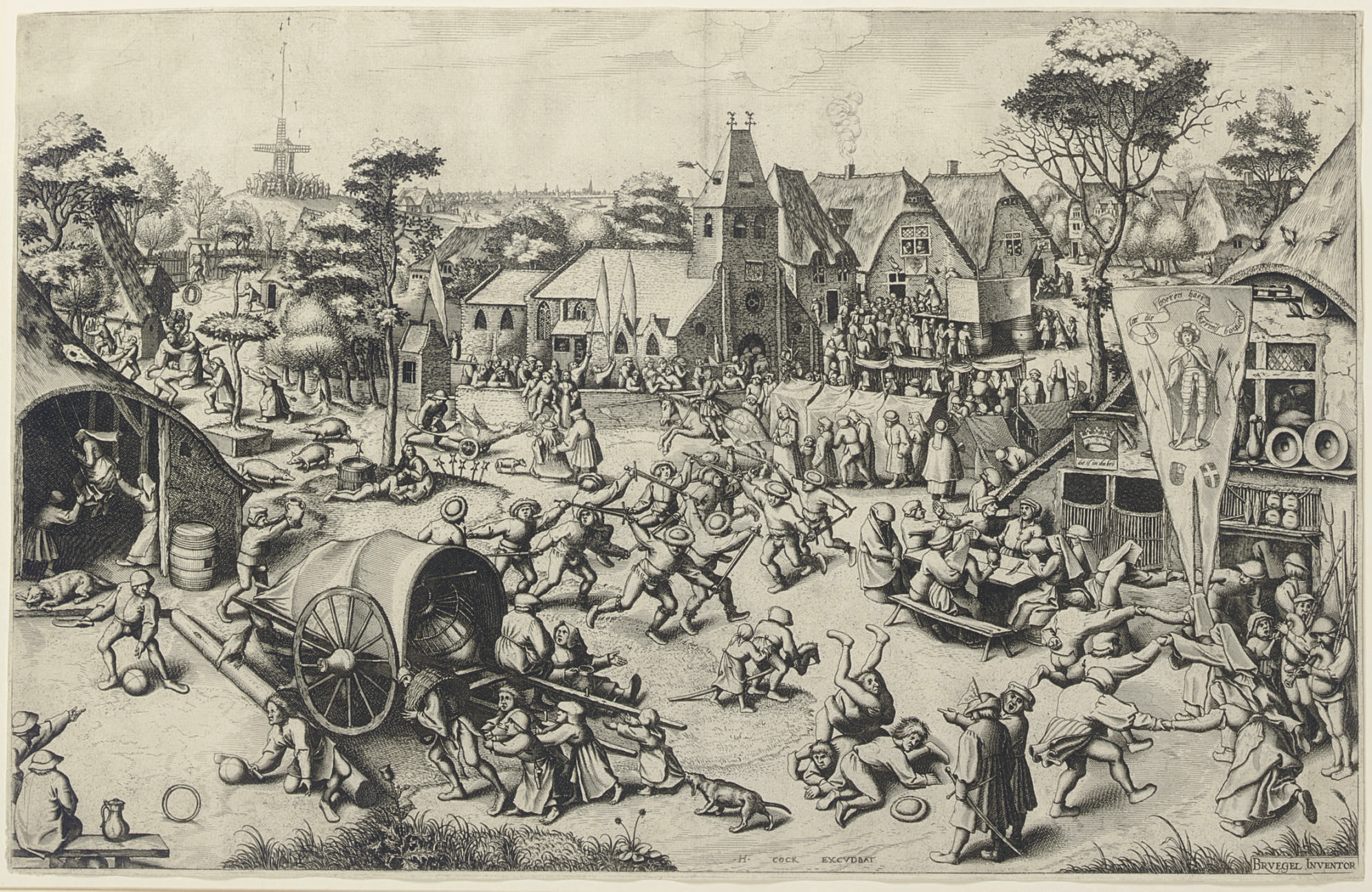 After Pieter Bruegel the Elder