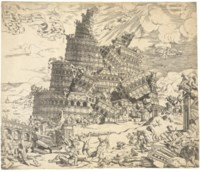 The Fall of the Tower of Babel (Passavant 2; Holl. 1)