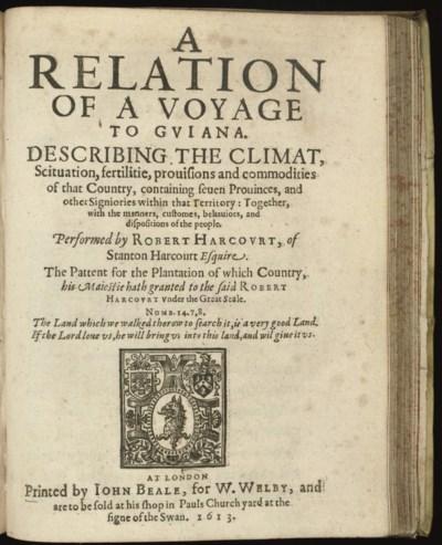 ROBERT HARCOURT (1574/5-1631)