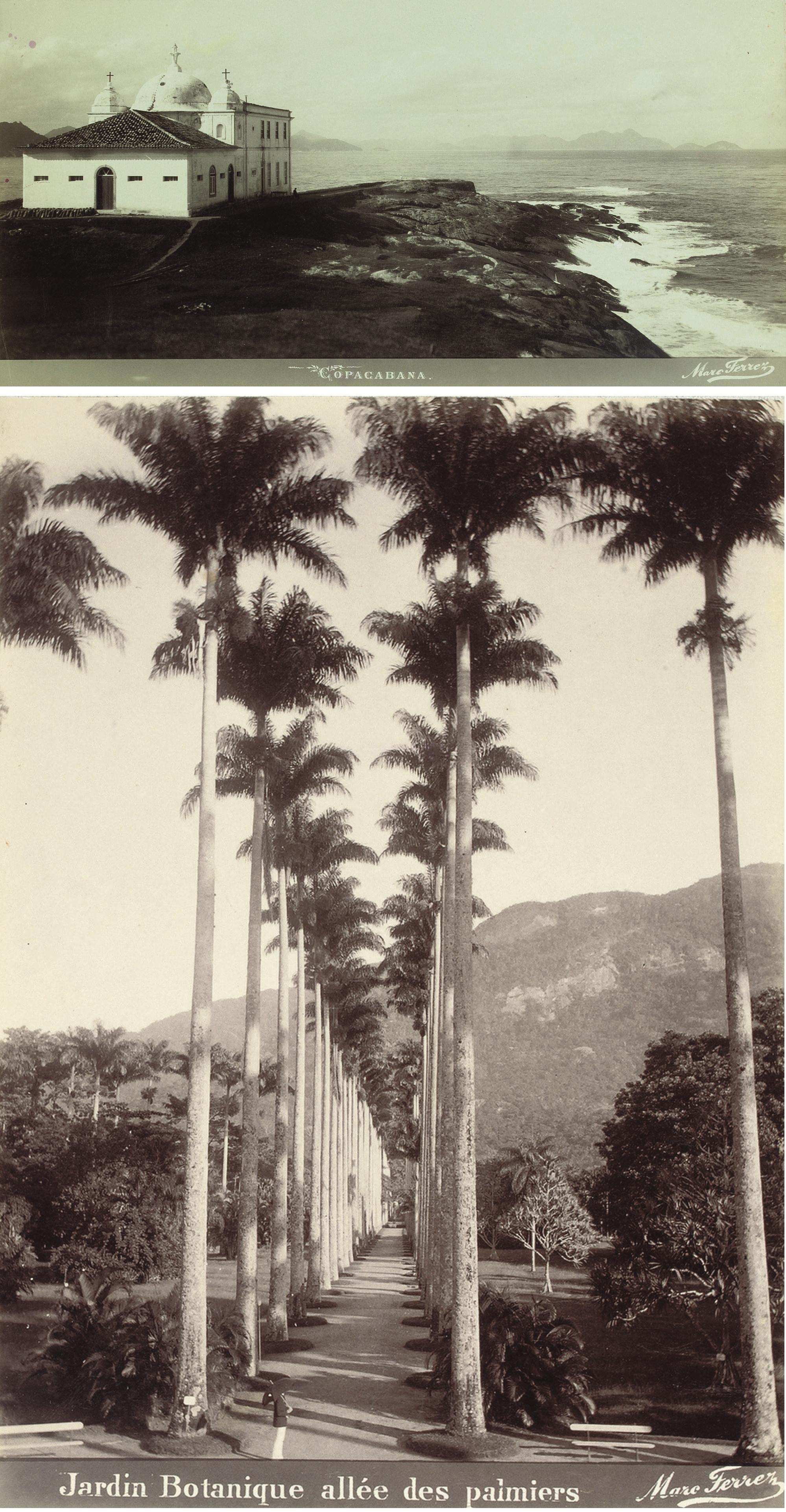 Reiseerinnerungen F Schwoerer, San Nicolas Cintra 1894. 1895.