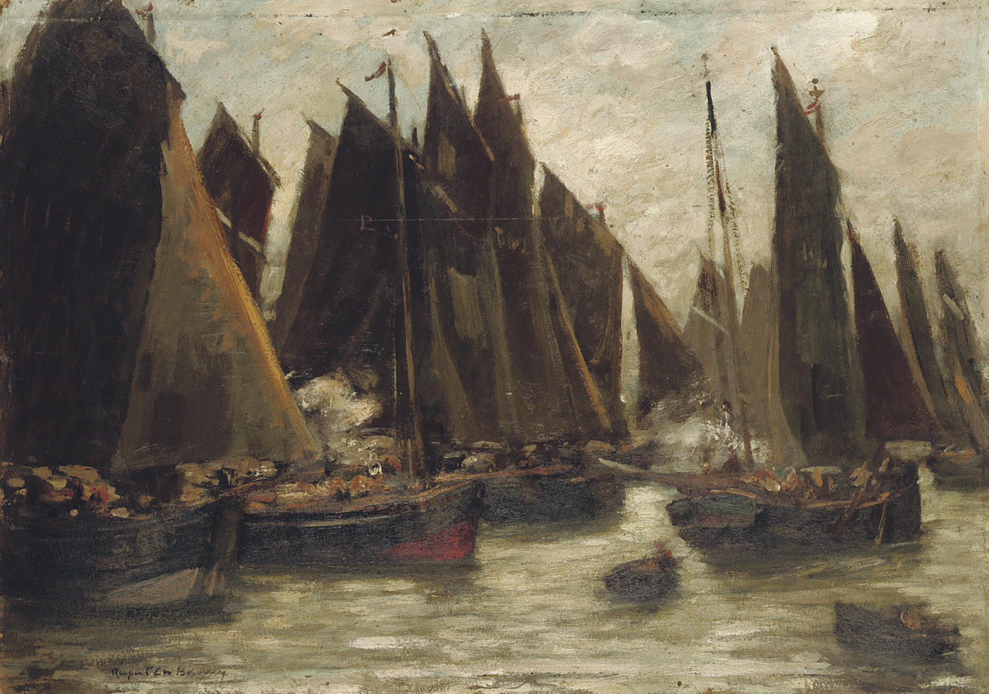 Fishing boats, Étaples