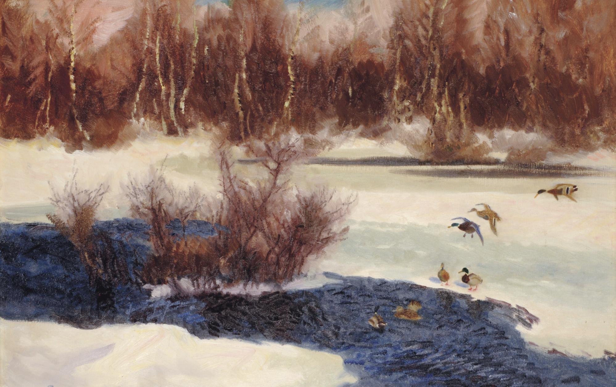 Bruno Liljefors (Swedish, 1860