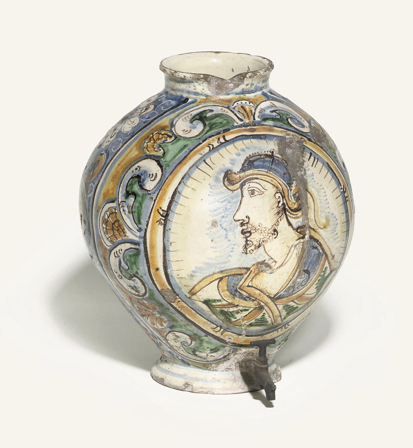 A SICILIAN OVIFORM JAR
