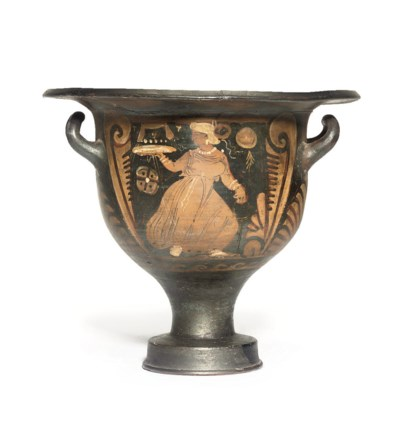 A CAMPANIAN RED-FIGURE BELL KR