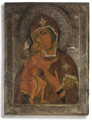 THE MOTHER OF GOD OF FEODOR, P