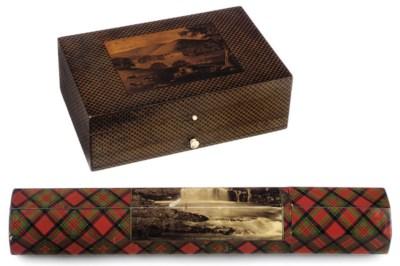A SCOTTISH MAUCHLINE WARE BOX