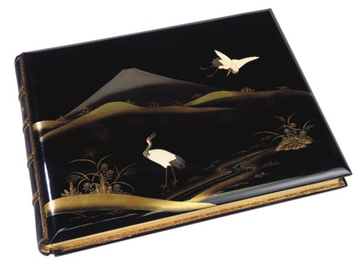 A JAPANESE LACQUERED ALBUM