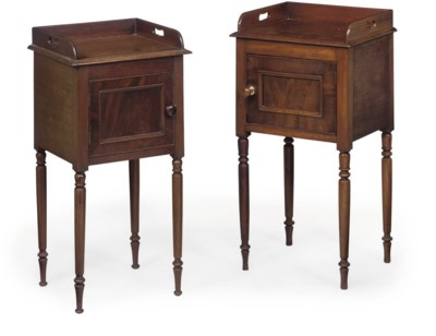 A MATCHED PAIR OF GEORGE IV MA
