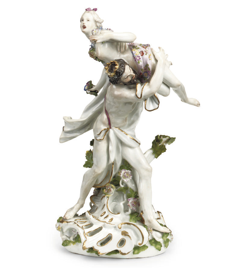 A MEISSEN GROUP 'THE RAPE OF P