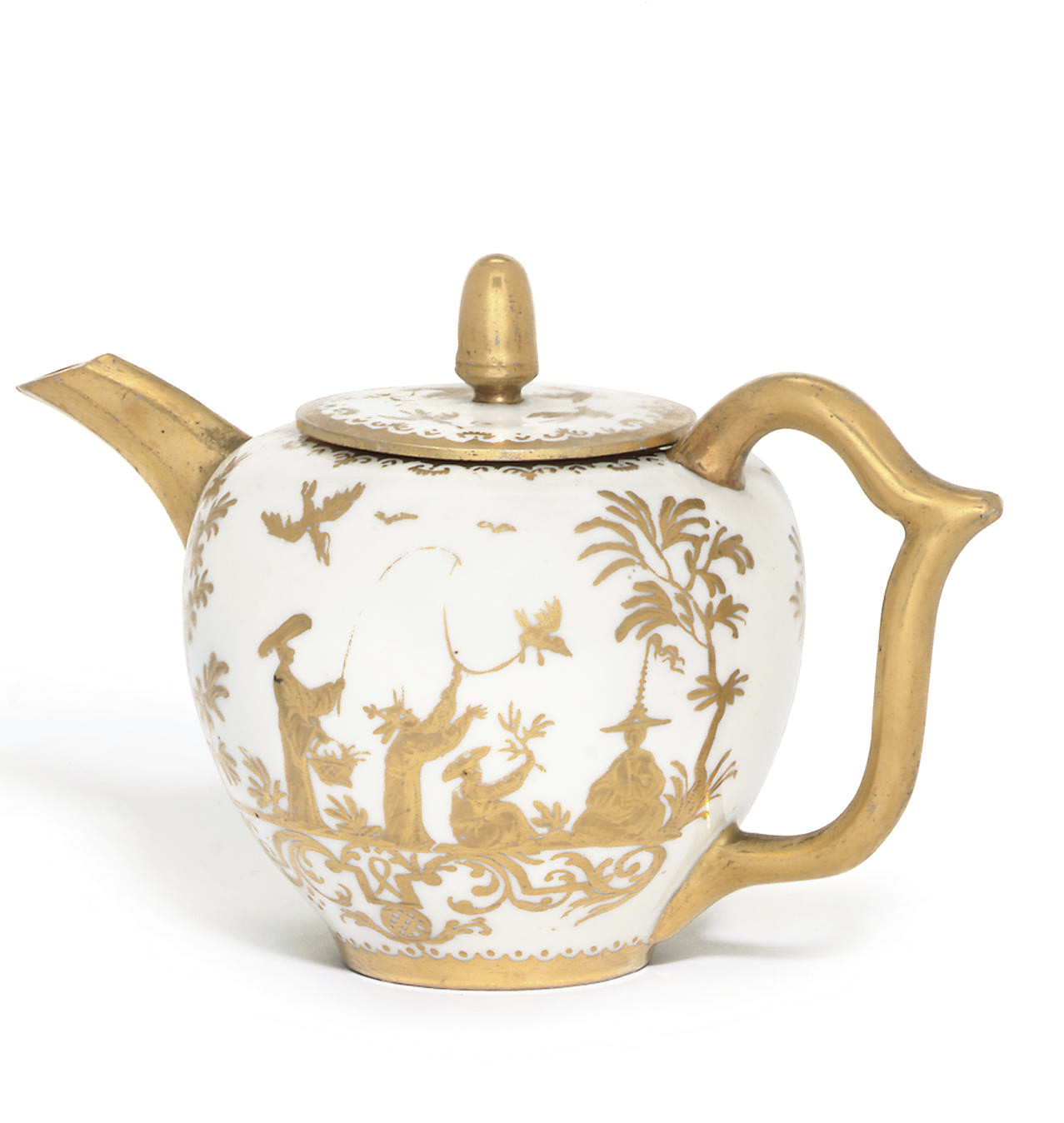 A MEISSEN SMALL GOLDCHINESEN B