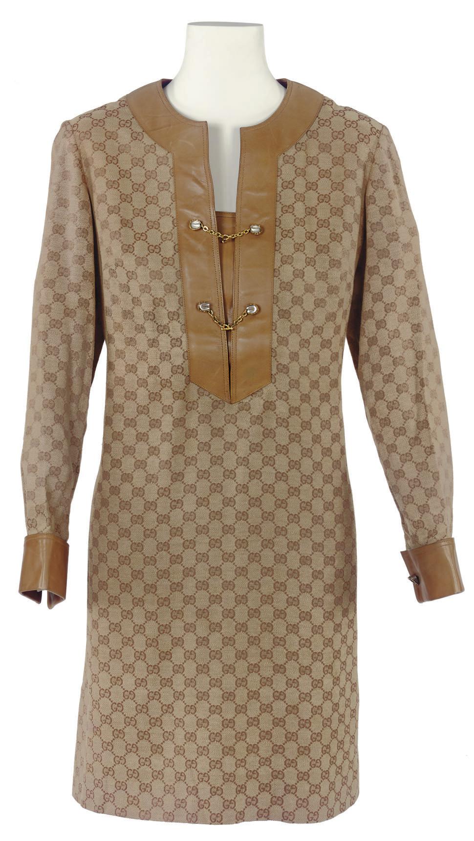 GUCCI (F.1906) A TUNIC DRESS