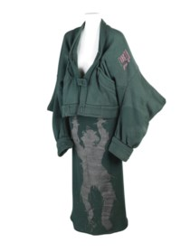 WORLD'S END (F.1981)  A 'WITCHES' COLLECTION JACKET, SKIRT AND SCARF