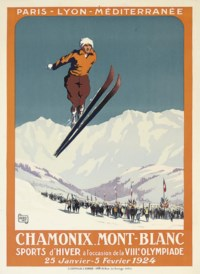 CHAMONIX MONT-BLANC, VIIIe. OLYMPIADE