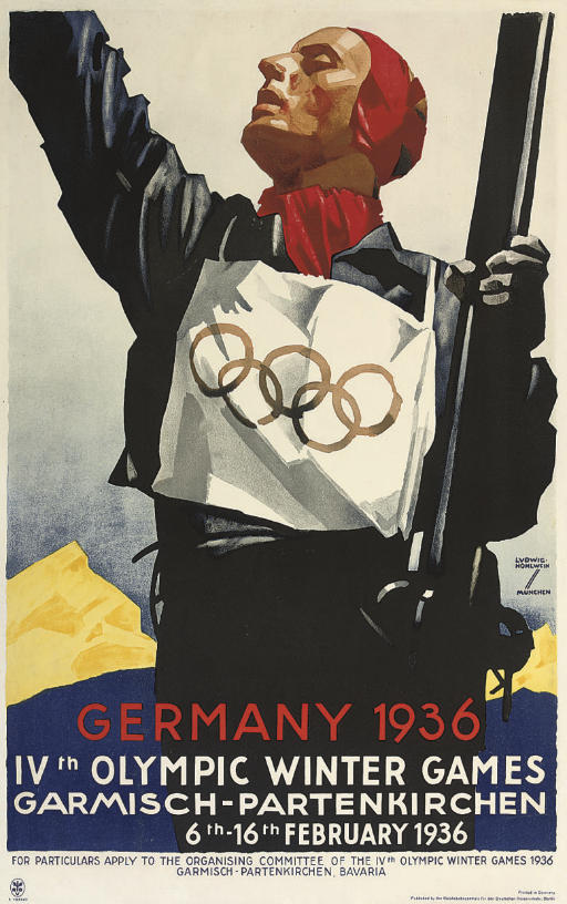 GERMANY 1936, IVth OLYMPIC WINTER GAMES