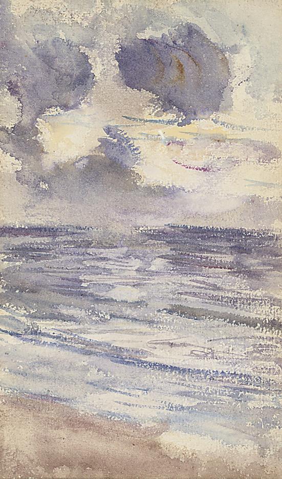 Sunset, Machrihanish; Largs from Fairlie; and Tarbert