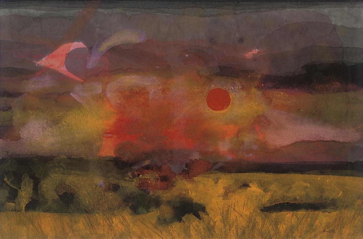 Sunset, Ettrick Valley
