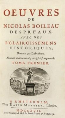 BOILEAU DESPREAUX, Nicolas (16