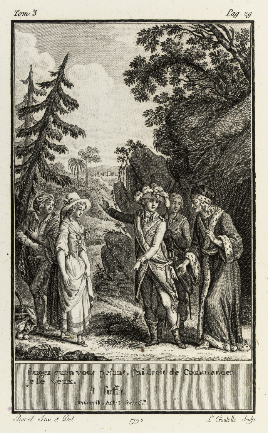 REGNARD, Jean François (1655-1