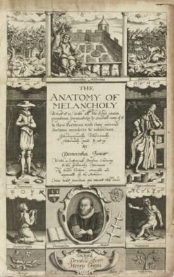 [BURTON, Robert (1577-1640)].