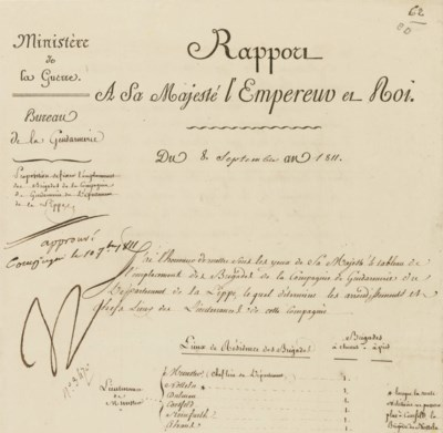 NAPOLEON I (1769-1821), Empero