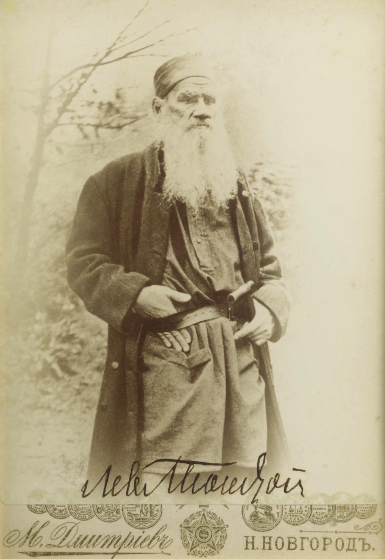 TOLSTOI, Lev Nikolaevich (Coun