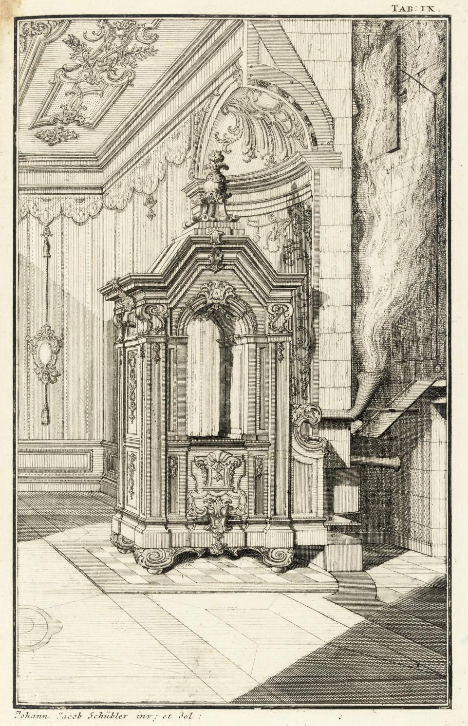 SCHÜBLER, Johann Jakob (1689-1