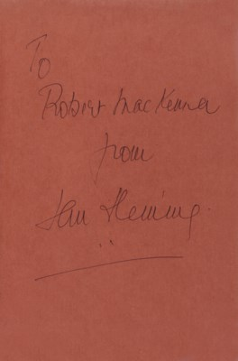 FLEMING, Ian (1908-64).  Thril