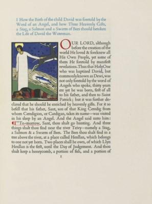 GREGYNOG PRESS -- DAVID, Saint