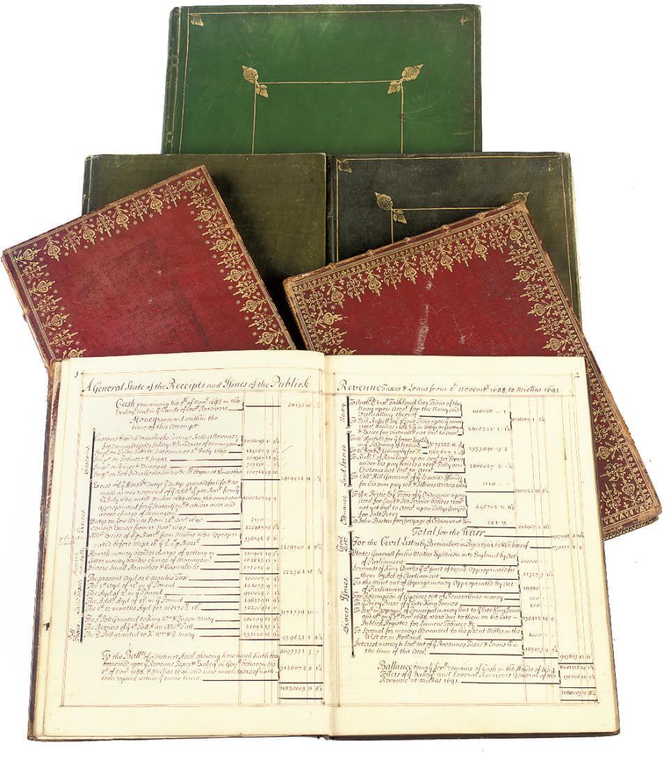 ACCOUNT BOOKS -- Customs & Exc
