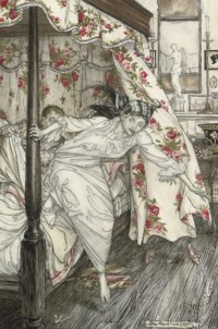 Venus and the Cat, an illustration from Aesop's Fables