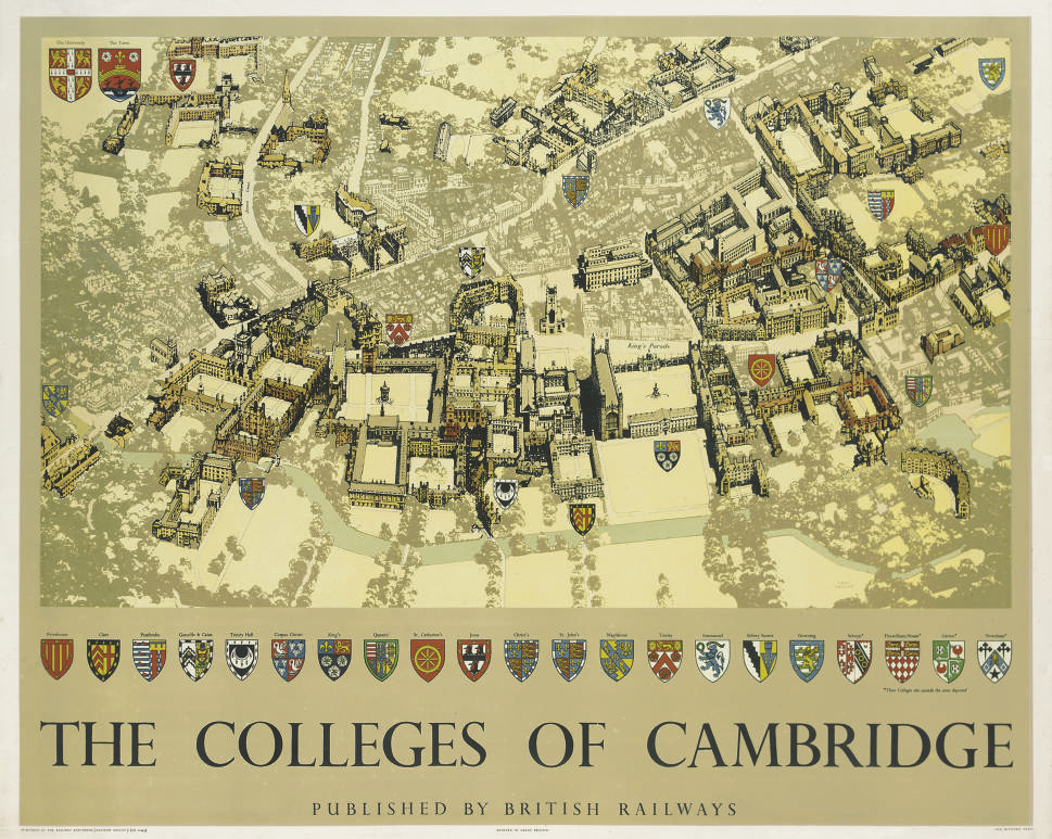 COLLEGES OF CAMBRIDGE