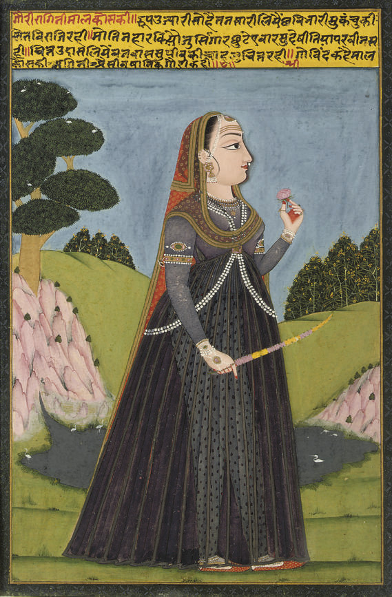 A YOUNG WOMAN, RAJASTHAN, 1740