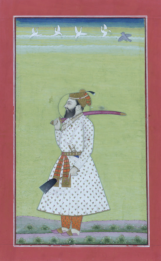 A PORTRAIT OF SHAH JAHAN, RAJA