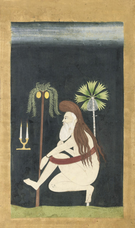 A PORTRAIT OF A HERMIT, RAJAST
