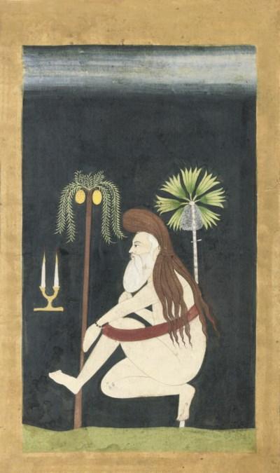 A PORTRAIT OF A HERMIT, RAJAST