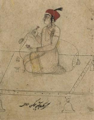 DRAWING OF A GURU HAR KRISHAN,