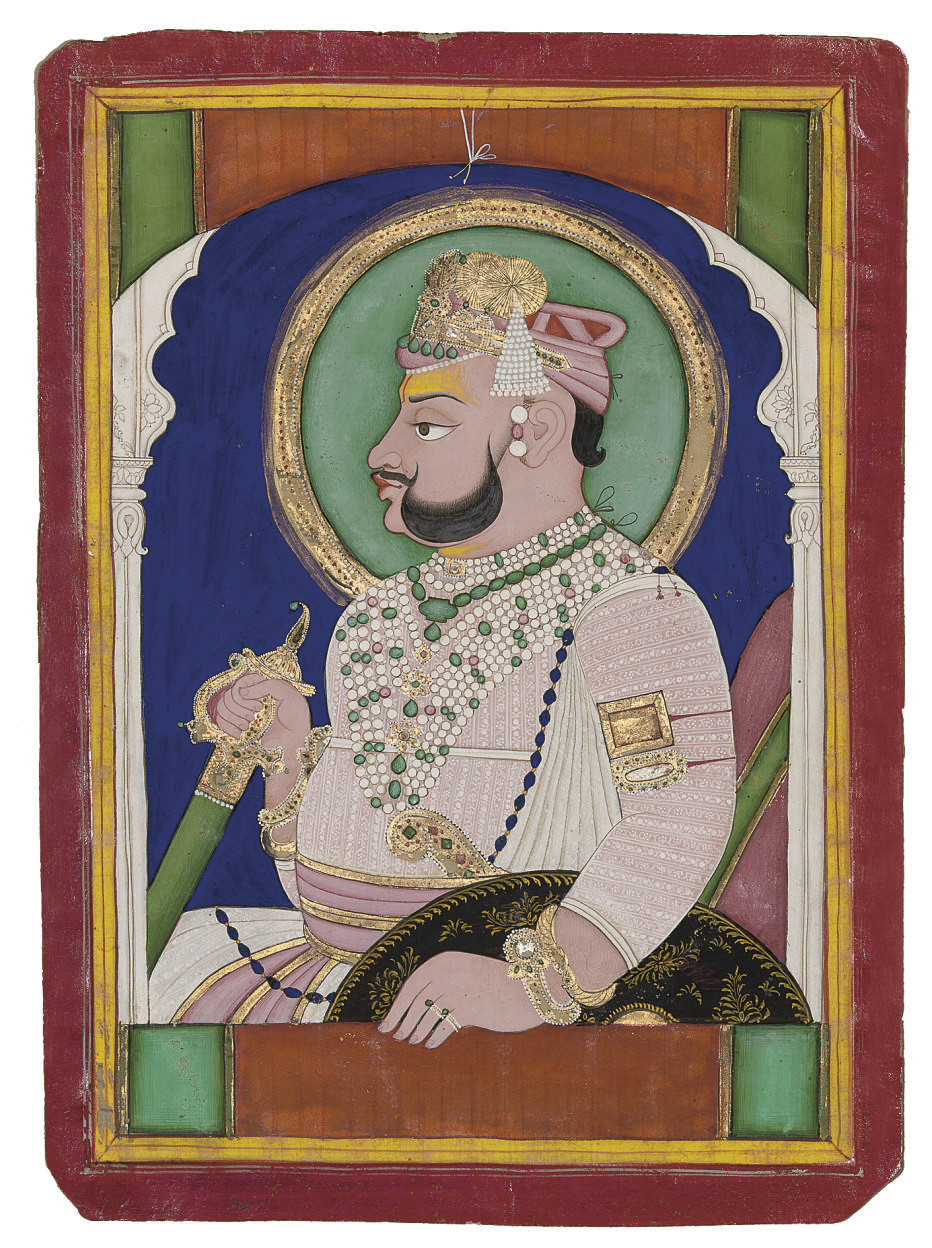 PORTRAIT OF A RAJA, KOTAH, CIR