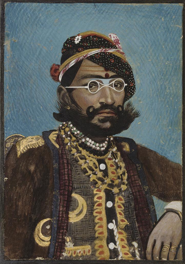 A PORTRAIT OF RAM SINGH, INDIA