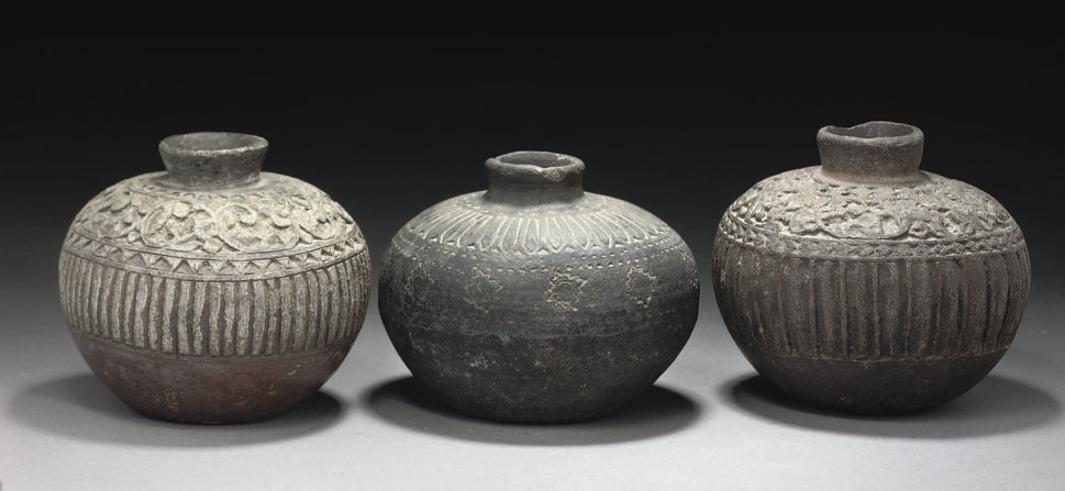 THREE SOAPSTONE LOTAS, CENTRAL