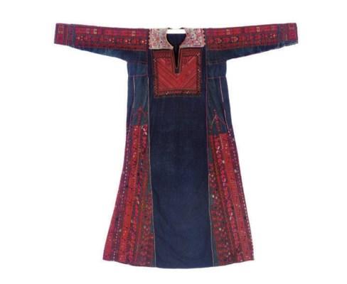 THREE PALESTINIAN DRESSES