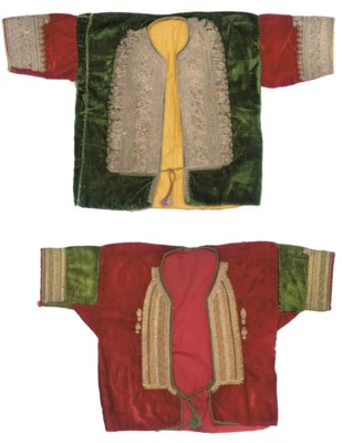 A VELVET JACKET, MOKNINE AND A