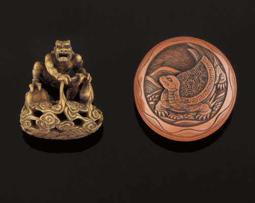 Two netsuke, 19th Century
