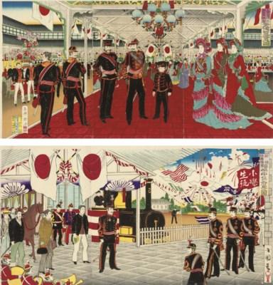 Chikanobu (1838-1912), Hiroshi