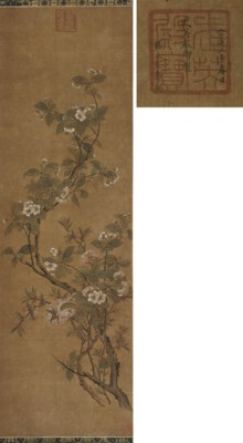 A hanging scroll in the style